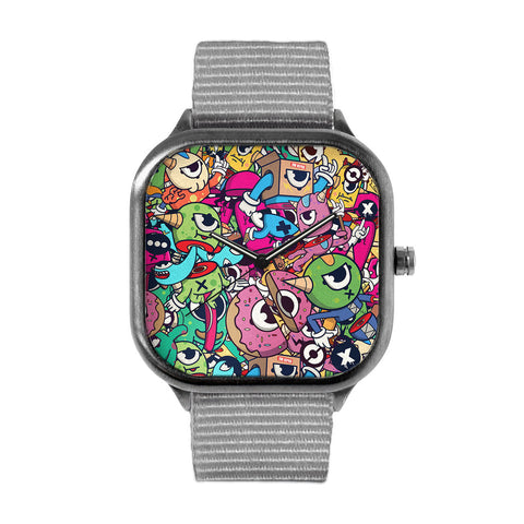 Sliced Monsters Watch