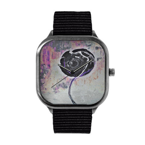 Golden Rose Acrylic Shadow World Watch