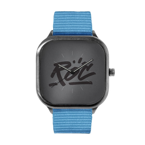 Grey Logo Watch