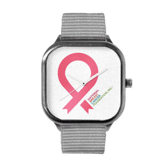 Large Pink Ribbon Watch