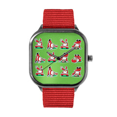 Breakdance Santa Watch