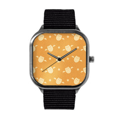 Bat Pattern Watch
