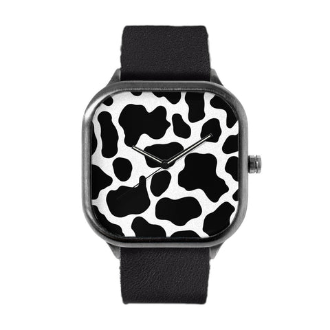Cow Print Watch