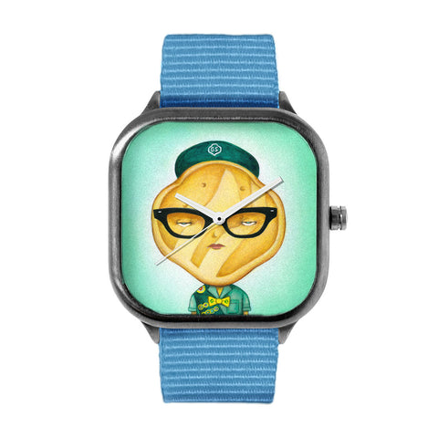 Girl Scout Cookie Trefoil Watch