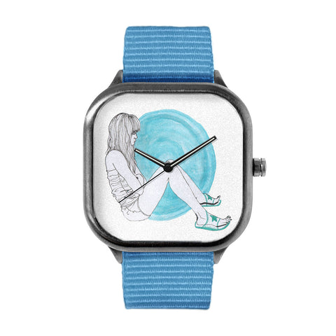 Blue Girl Watch