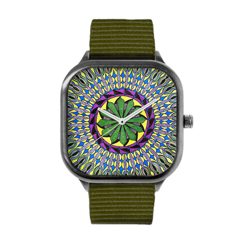 Squid Mandala Watch
