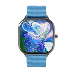 Chris's Closet Blue Rose Watch