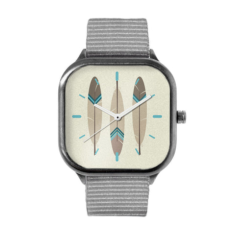 Pointed Feathers Watch
