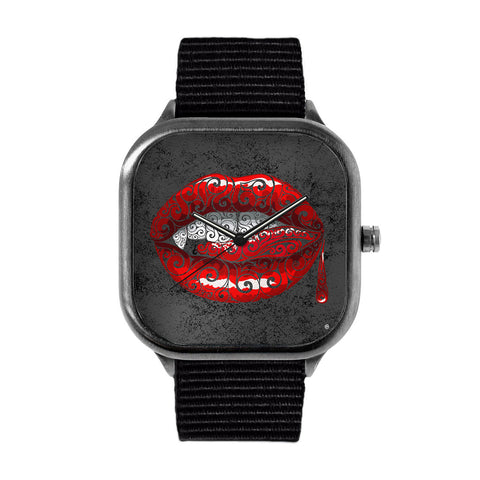 Swirly Fangs Watch