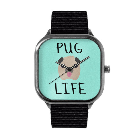 Fred Delicious Pug Life Watch