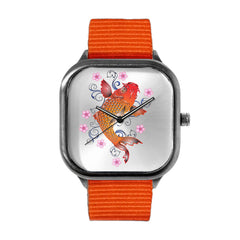 Asia Floral Koi Watch