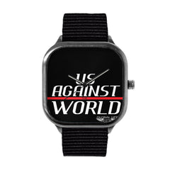 Us Against the World Watch