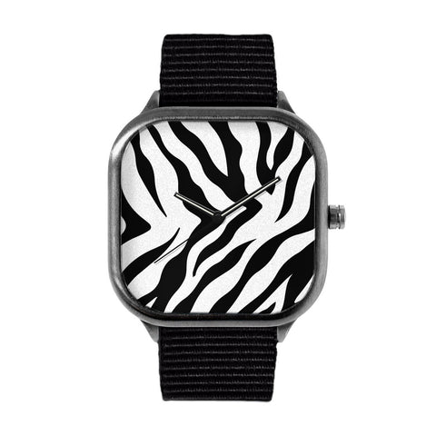 Zebra Stripes Alloy watch