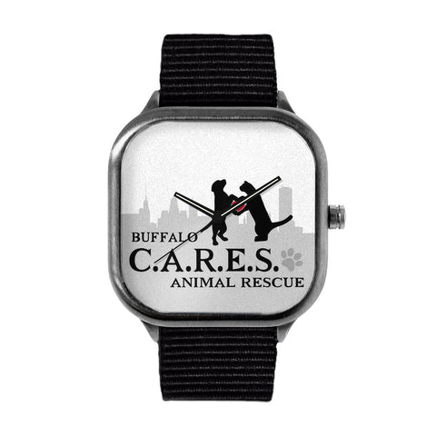 Buffalo CARES Logo Watch