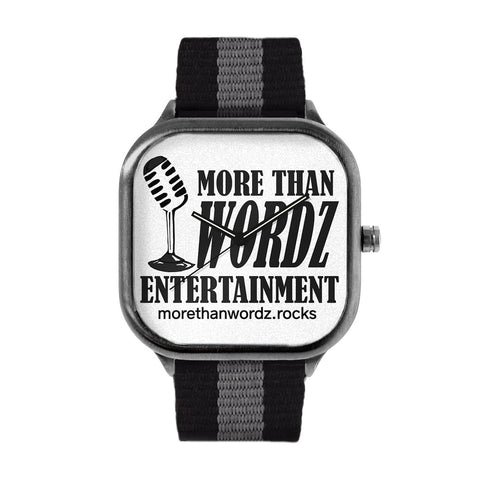 More Than Wordz.Rock Watch