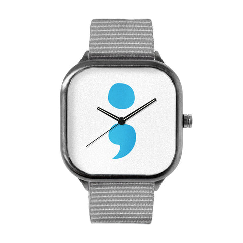Project Semicolon Logo Watch