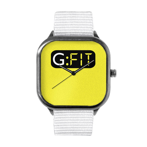 GFit Yellow Watch