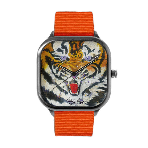 Louisiana Tiger Stripes Watch