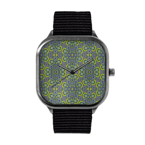 Green Pattern Watch