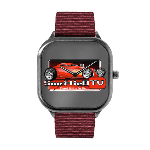 Colored Logo Watch