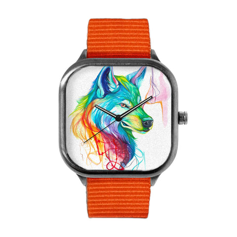 Wolf Splash Watch