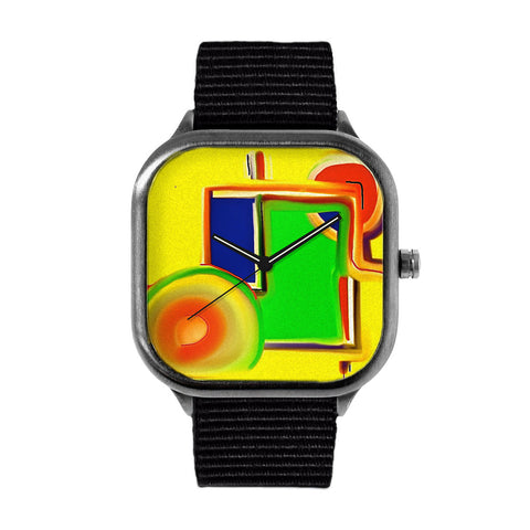 Chris's Closet Rainbow Square Watch