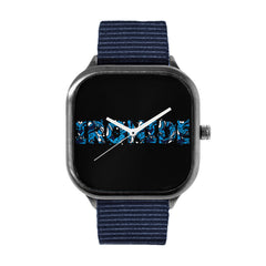 Ironide Blue Marble Alloy watch