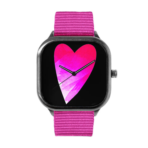 Heart In Hand Fuchsia Black Watch