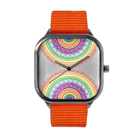 Rainbow Mandala Watch