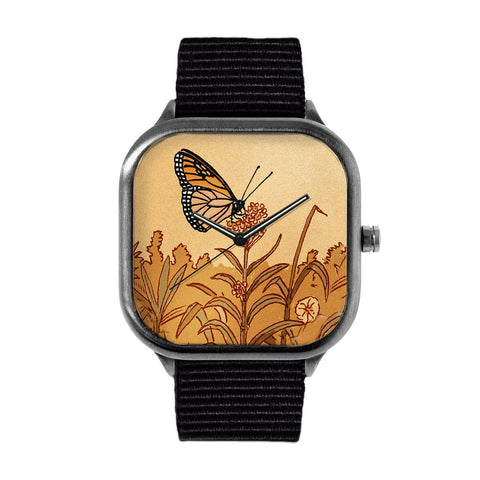 Flower Monarch Watch