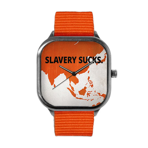 Slavery Sucks Big Time Watch