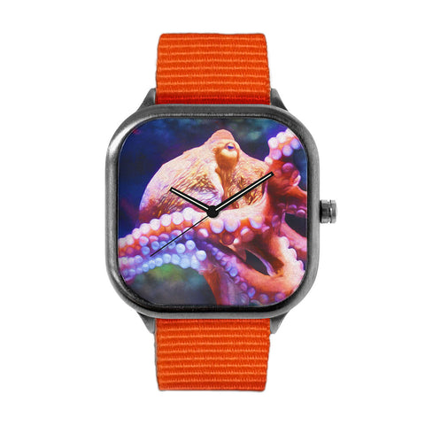 Rainbow Octopus Watch