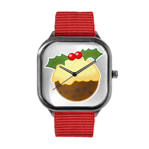 Xmas Pudding Watch
