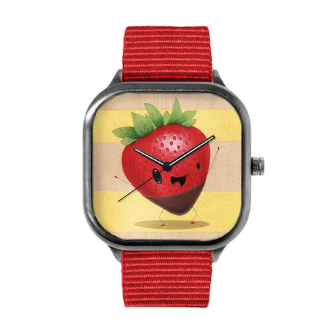 ChocoStrawberry Watch