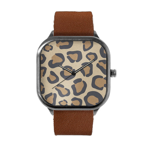 Cheetah Spots Alloy watch