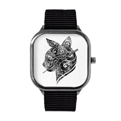 Swirly Cat Watch