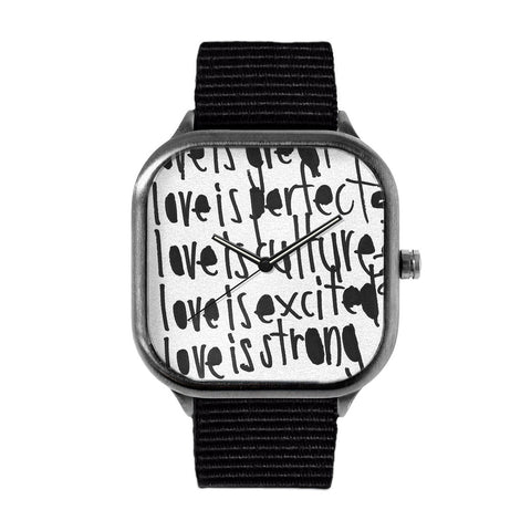 Love is Perfect by John Patrick McKenzie Watch