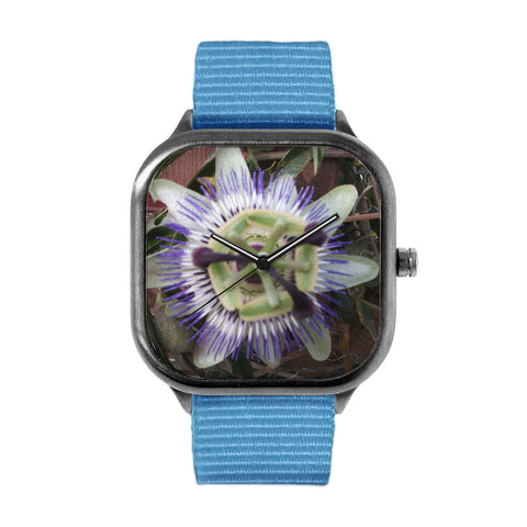 Purple Flower Watch