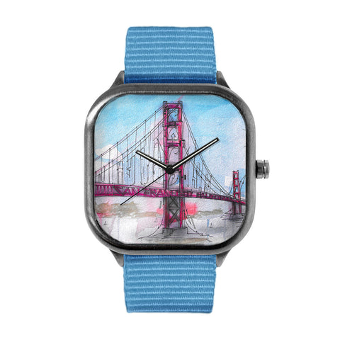 Graffiti Golden Gate Bridge Watch