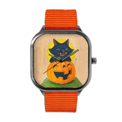 Black Cat halloween Watch