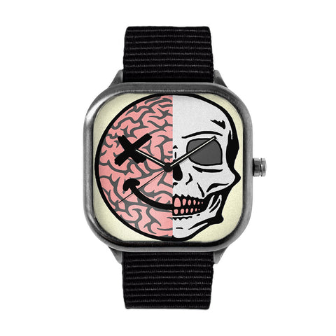 Brain Skull Watch