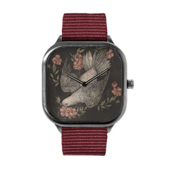 Dove and Flowers Watch