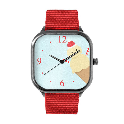 Ice Cream Snowman Watch