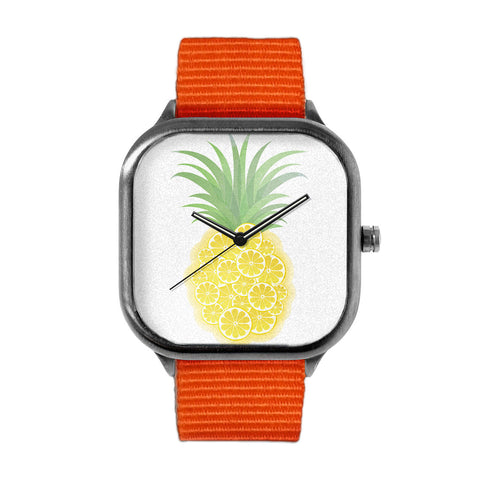 Orange Pineapple Watch