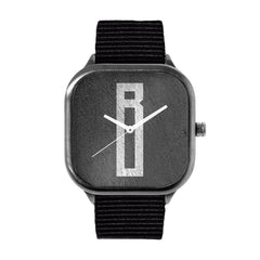 Monolithic Monogram B Watch