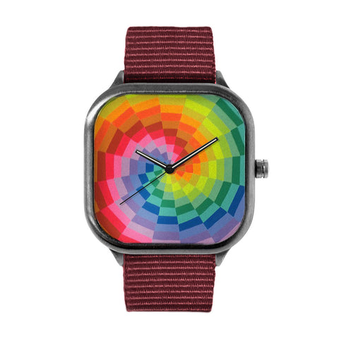 Neon Rainbow Watch