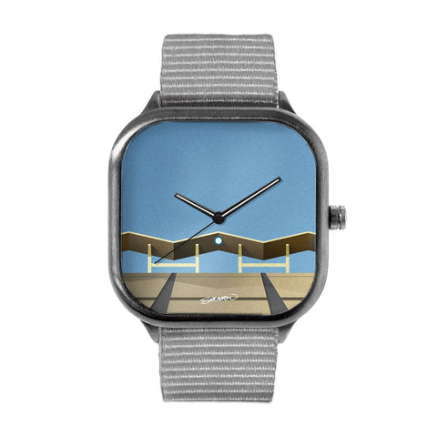 Minimalist Dodger Stadium Watch
