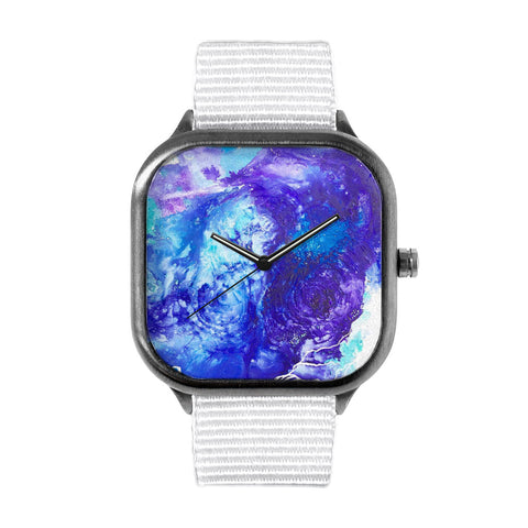 Blue Swirl Watch