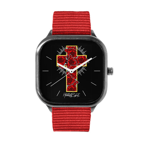 Rose Cross Watch