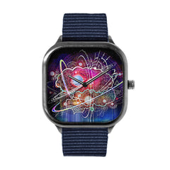 Science Clouds Alloy watch
